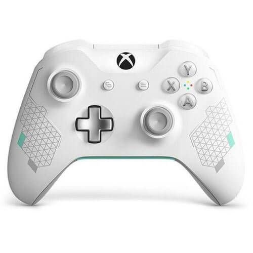 Controle Xbox One S Sport White Special Edition Mostruário - Xbox One