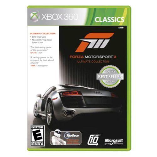 Forza Motorsport 3 Ultimate Collection Seminovo – Xbox 360