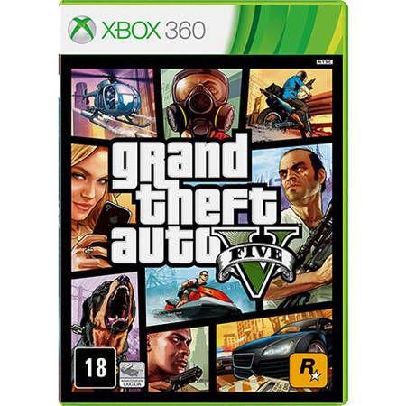 Grand Theft Auto GTA V Seminovo – Xbox 360