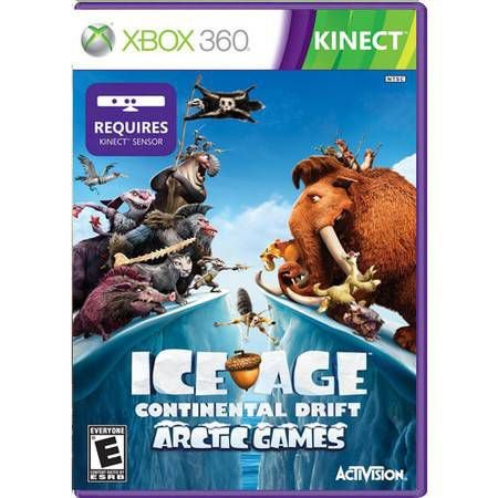 Ice Age Continental Drift Arctic Games Kinect Seminovo- Xbox 360