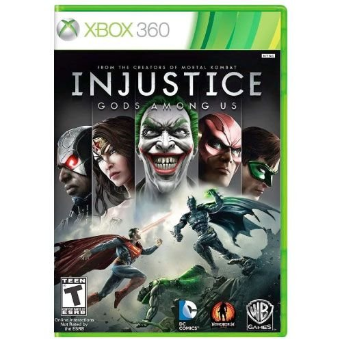 Injustice God Among Us Seminovo – Xbox 360