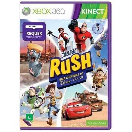 Kinect Rush: Uma Aventura da Disney Pixar Seminovo – Xbox 360