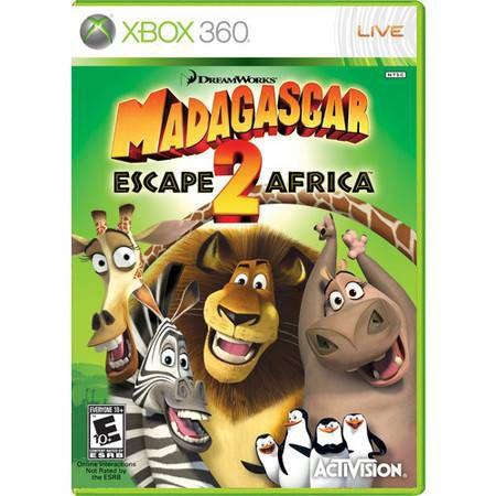 Madagascar Escape Africa 2 Seminovo – Xbox 360