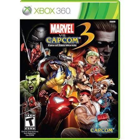 Marvel Vs Capcom 3 Fate Of Two Worlds Seminovo – Xbox 360