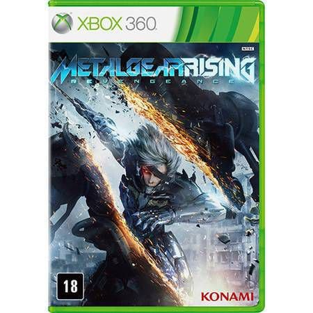 Metal Gear Rising Seminovo – Xbox 360