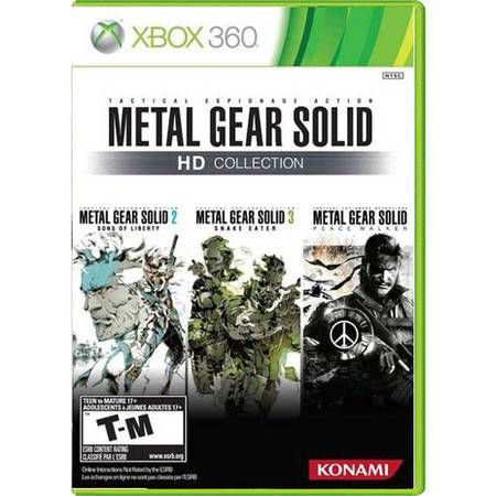 Metal Gear Solid Hd Collection Seminovo – Xbox 360