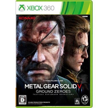 Metal Gear Solid V Ground Zeroes Seminovo – Xbox 360