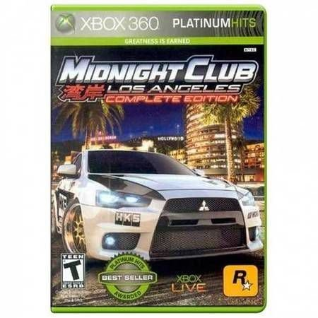 Midnight Club: Los Angeles Complete Edition Seminovo – Xbox 360