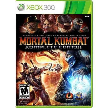 Mortal Kombat Komplete Edition Seminovo – Xbox 360