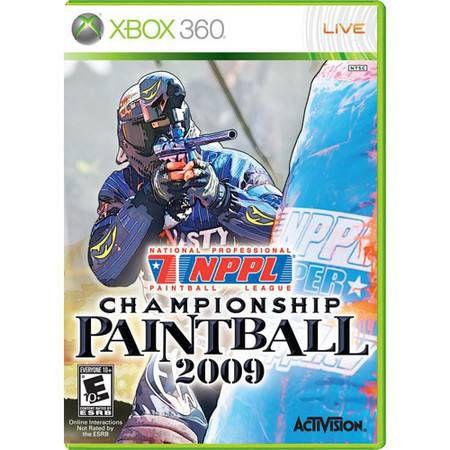 NPPL Championship Paintball 2009 Seminovo – Xbox 360