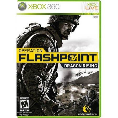 Operation Flashpoint: Dragon Rising Semi-Novo – Xbox 360