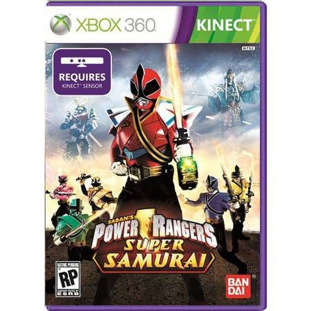 Power Rangers Super Samurai Kinect Seminovo – Xbox 360