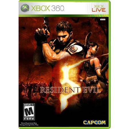 Resident Evil 5 Seminovo – Xbox 360