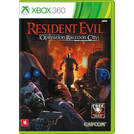 Resident Evil: Operation Raccoon City Seminovo – Xbox 360
