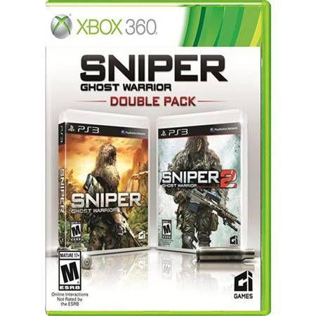 Sniper Ghost Warrior Double Pack Seminovo – Xbox 360