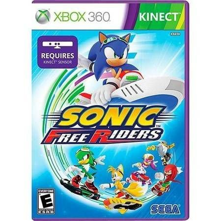 Sonic Free Riders Kinect Seminovo – Xbox 360