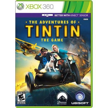 The Adventures Of Tintin the Game Kinect Seminovo – Xbox 360