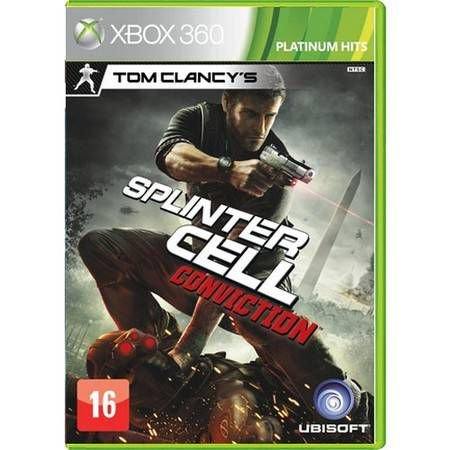 Tom Clancys Splinter Cell Conviction Seminovo – Xbox 360