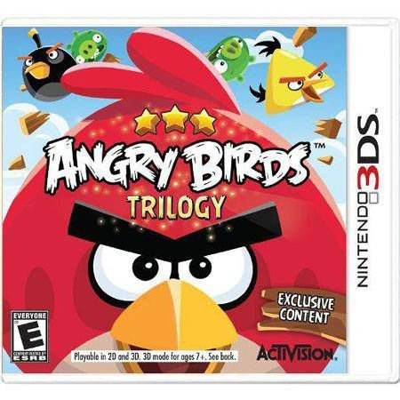 Angry Birds Trilogy Seminovo – 3ds