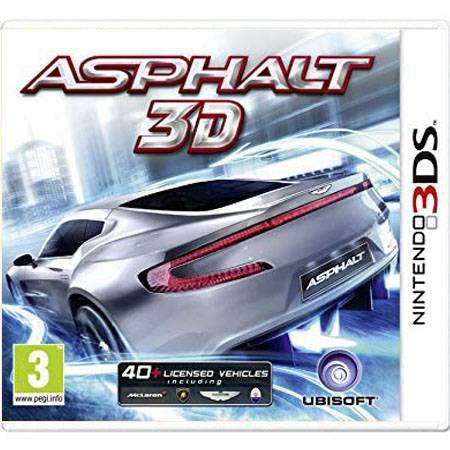 Asphalt 3D Seminovo – 3DS
