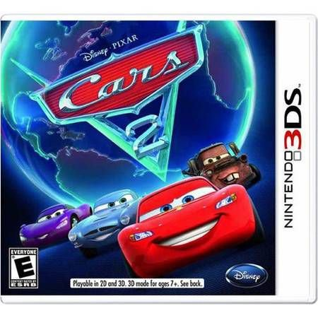 Cars (Carros) 2 Seminovo – 3DS