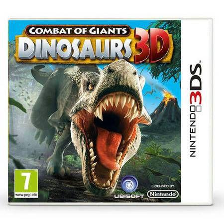 Combat Of Giants Dinossaurs 3D PAL Seminovo – 3DS