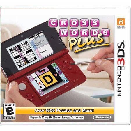 Crosswords Plus Seminovo – 3DS