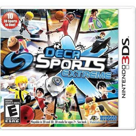 Deca Sports Extreme Seminovo – 3DS