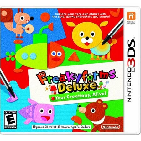 Freakyforms Deluxe Your Creations, Alive! Seminovo – 3DS