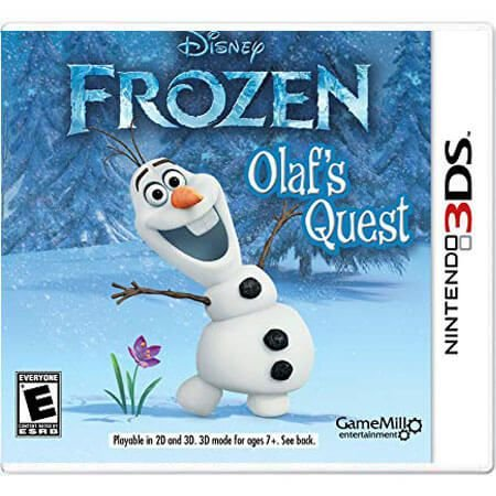 Frozen Olaf's Quest Seminovo – 3DS
