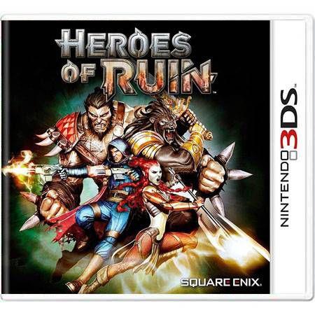 Heroes of Ruin Seminovo – 3DS