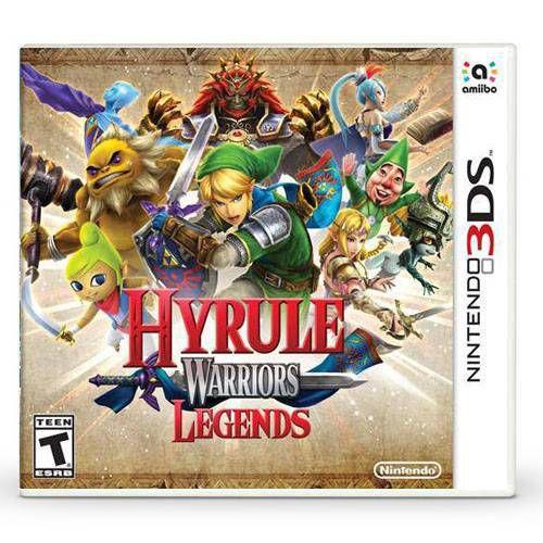 Hyrule Warriors Legends Seminovo – 3DS