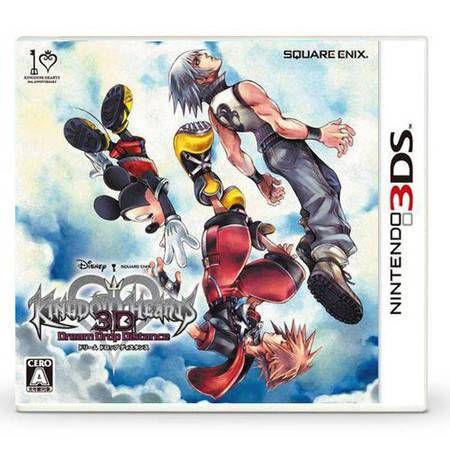 Kingdom Hearts 3D Dream Drop Distance Seminovo – 3DS