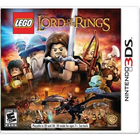 Lego The Lord of The Rings Seminovo – 3DS