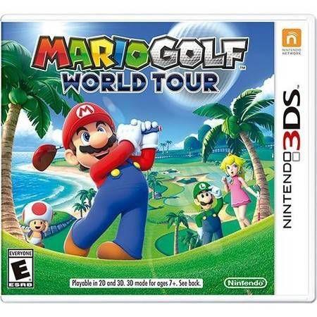 Mario Golf World Tour Seminovo – 3DS