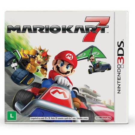 Mario Kart 7 Seminovo – 3DS
