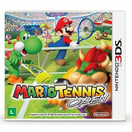 Mario Tennis Open Seminovo – 3DS