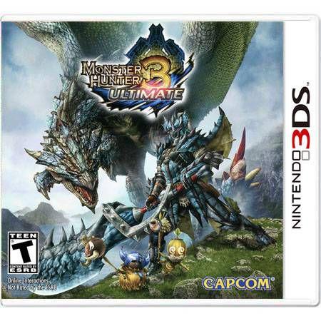 Monster Hunter 3 Ultimate Seminovo – 3DS