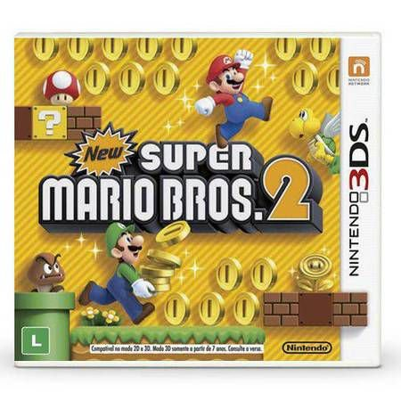 New Super Mario Bros 2 Seminovo – 3DS
