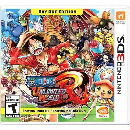 One Piece Unlimited World Red Seminovo – 3DS