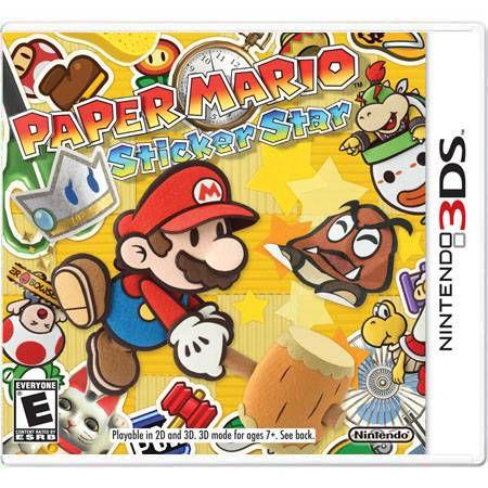 Paper Mario Sticker Star Seminovo – 3DS