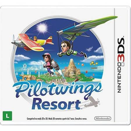 Pilotwings Resort Seminovo – 3DS