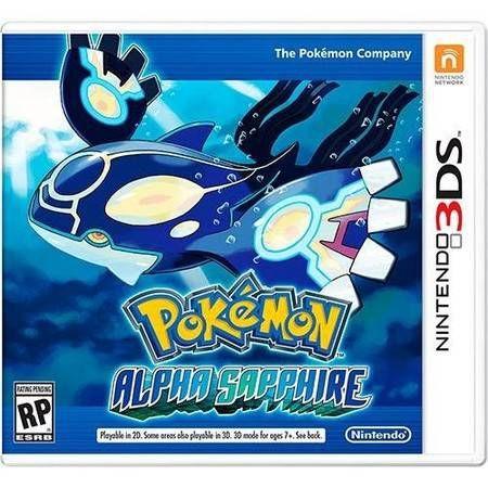 Pokémon Alpha Sapphire Seminovo – 3DS