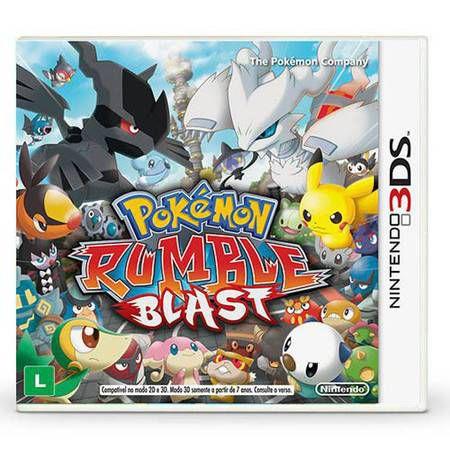 Pokémon Rumble Blast Seminovo – 3DS