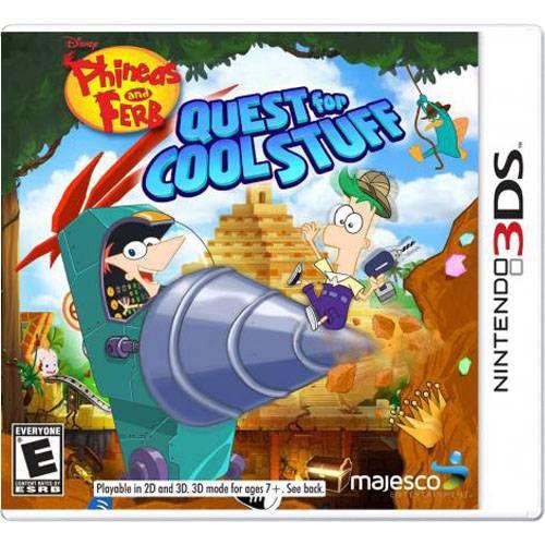 Quest Cool Stuff Seminovo – 3DS