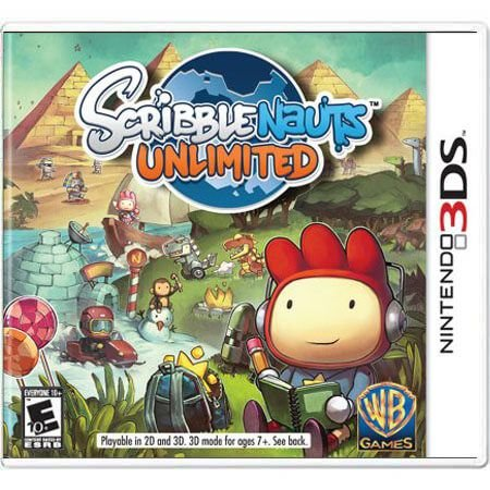 Scribblenauts Unlimited Seminovo – 3DS