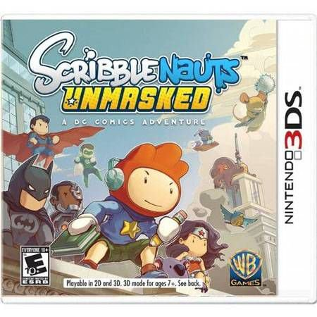 Scribblenauts Unmasked A Dc Comics Adventure Seminovo – 3DS
