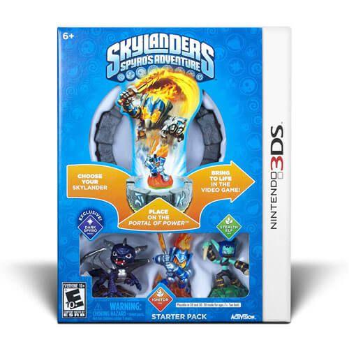 Skylanders – Pacote Inicial Seminovo – 3DS