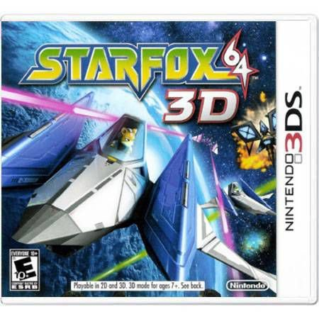 Star Fox 64 3D Seminovo – 3DS