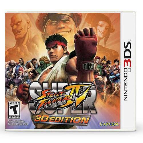 Super Street Fighter 3D Edition Seminovo – 3DS